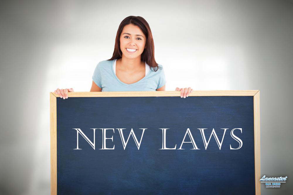 New Laws in California 2018