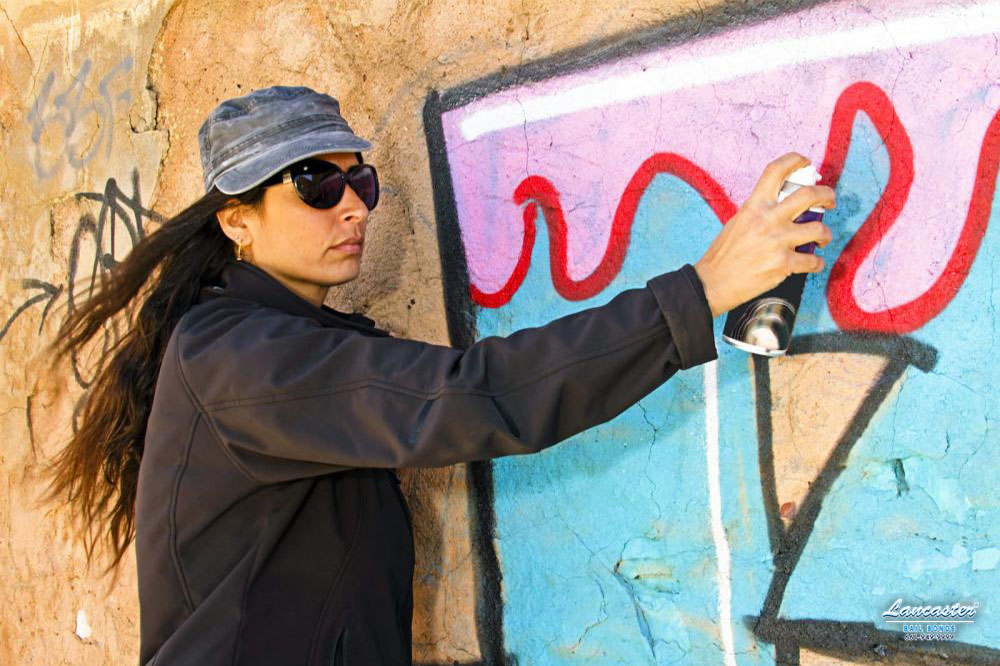 Graffiti is considered vandalism