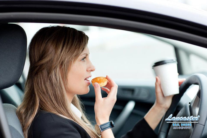 distracted driving newhall bail bonds
