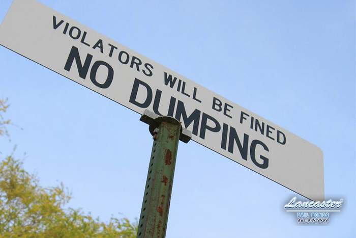 illegal dumping lancaster bail bonds
